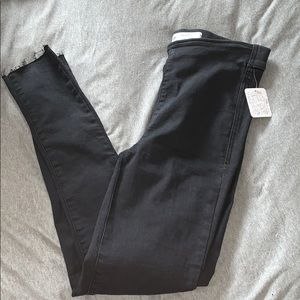 Black Buttonless Pants from Free People
